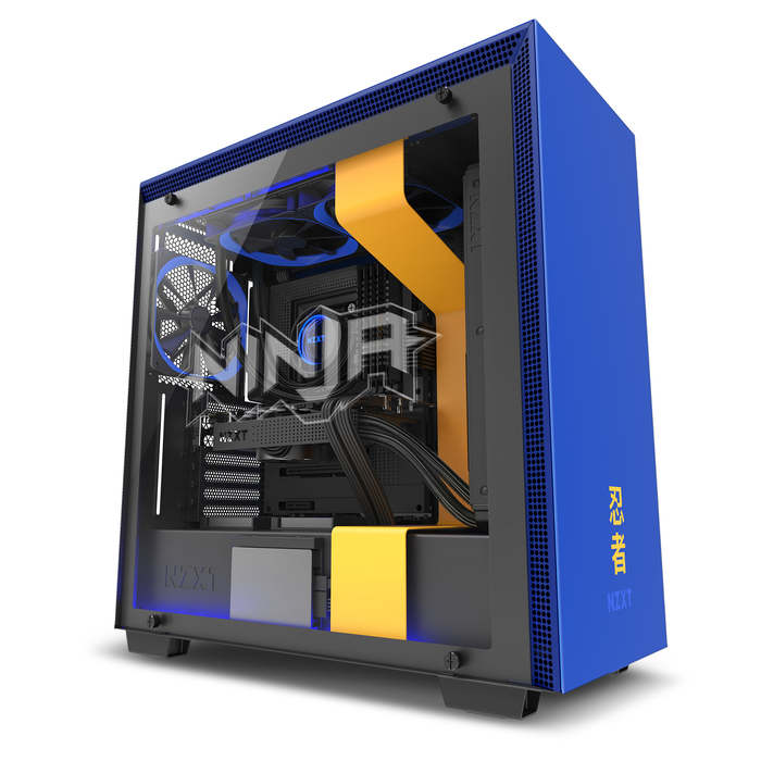H700i Ninja Special Edition Mid-Tower Gaming Case | NZXT
