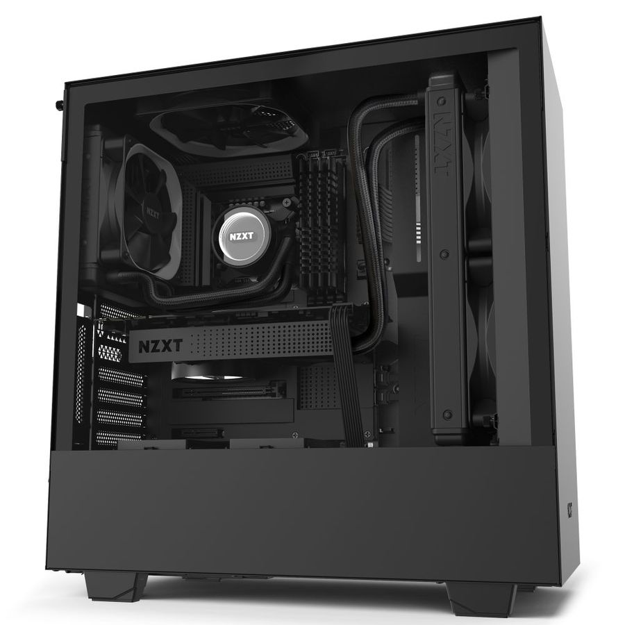 NZXT Kraken PC Fan Cooler Parent Black Black 360mm